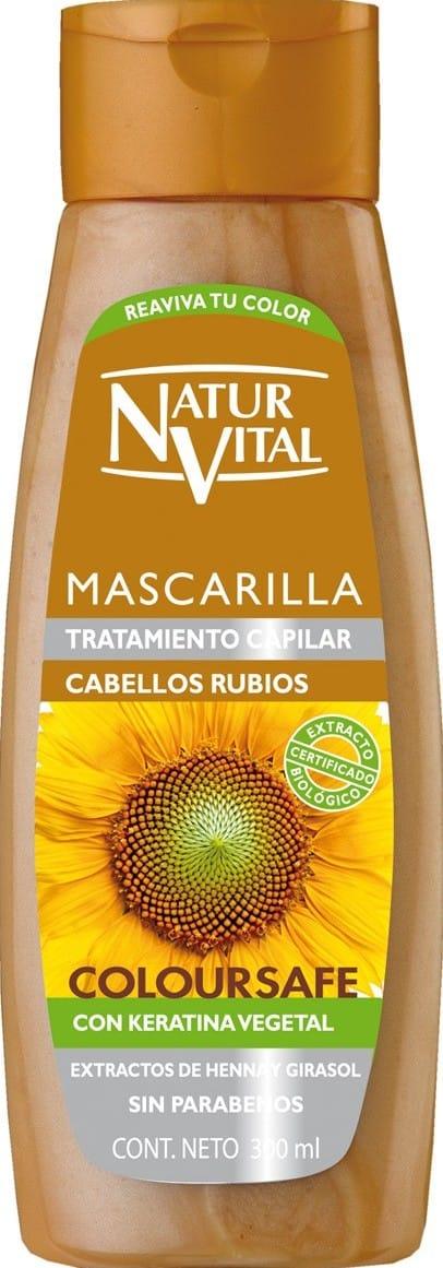 Mascarilla Natur Vital Cabellos Rubios X400ml