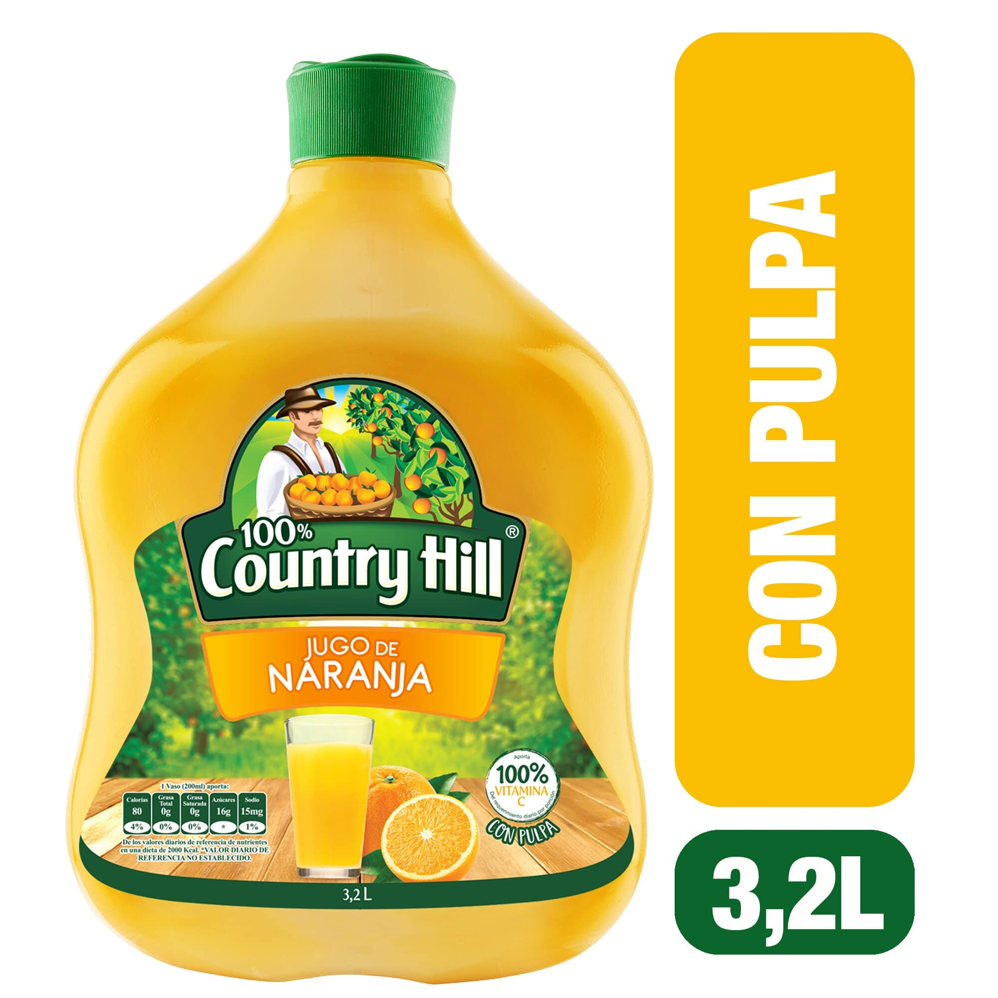 Jugo Country Hill Naranja 3 2l