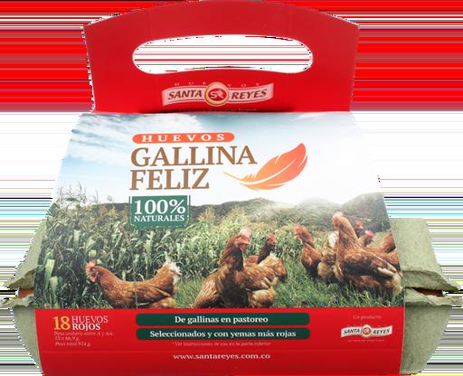 Huevo Rojo a Gallina Feliz 18 und