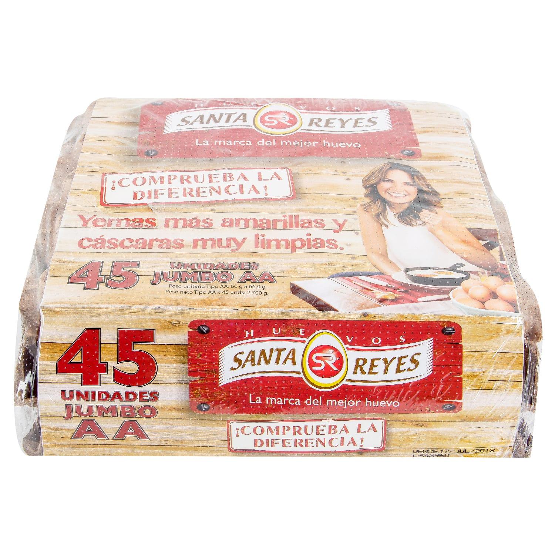 Huevo Santa Reyes aa Rojo 45u
