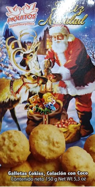 Galleta Piquitos Navidad 150g