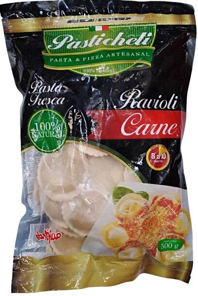 Ravioli Carne Pastichelli 500g