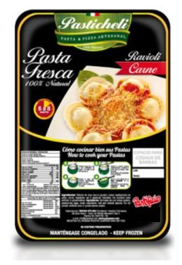 Ravioli Pastichelli Carne 1000g
