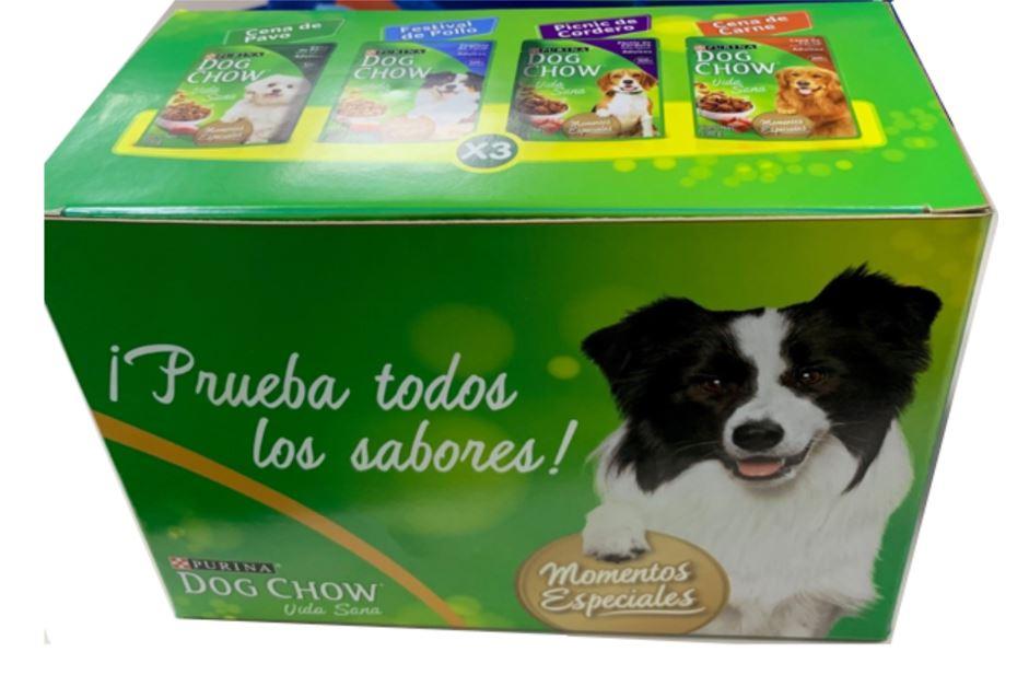 Alimento Humedo dog Chow Surtido 100gx12