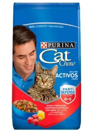 Alimento cat Chow act c Fort 2kg