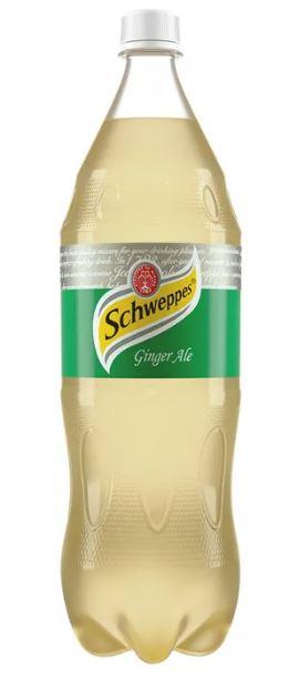 Gaseosa Schweppes Ginger 1 75l