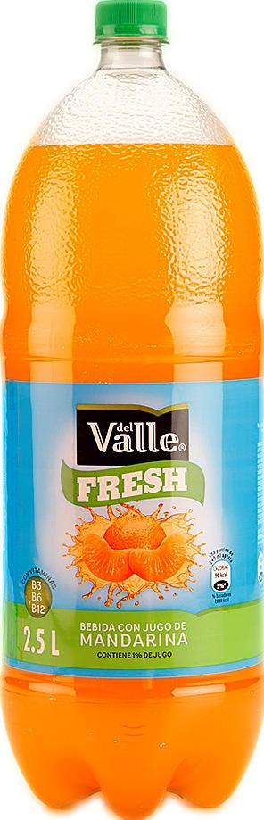 Refresco del Valle Fresch Mandarina 2 5l
