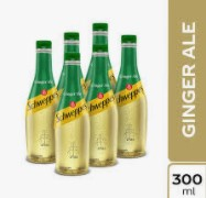 Gaseosa Schweppes Ginger 300ml x6u