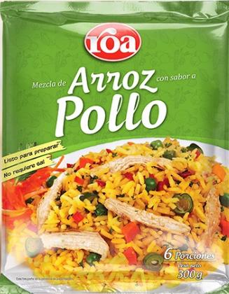 Arroz roa Pollo Vegetales 300g