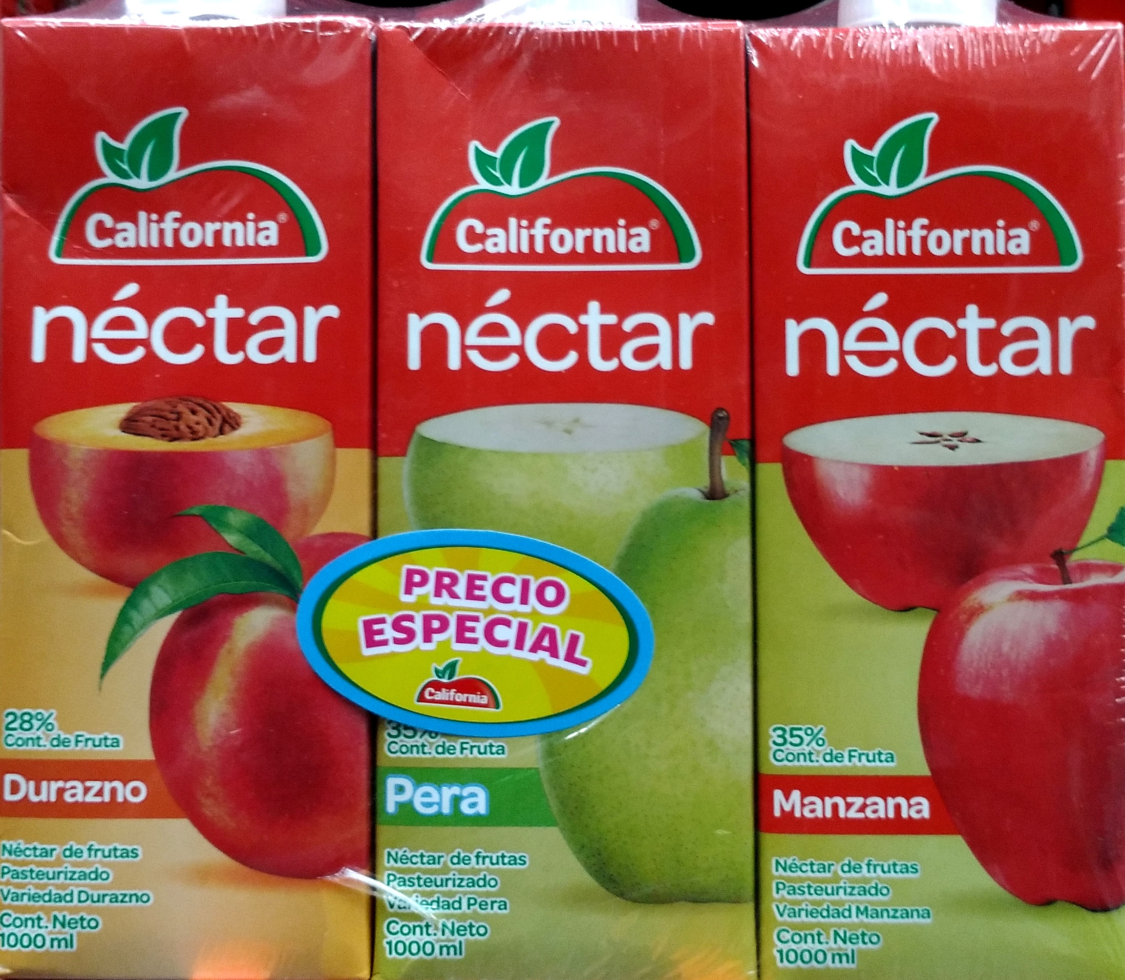 Nectar California 1000ml Tetra Pack x3