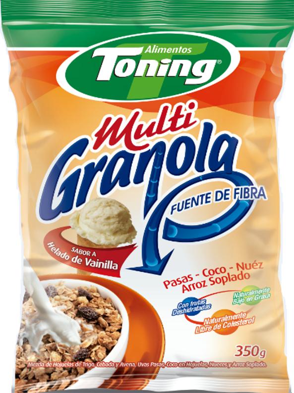 Multigranola Toning Vainilla 1kg