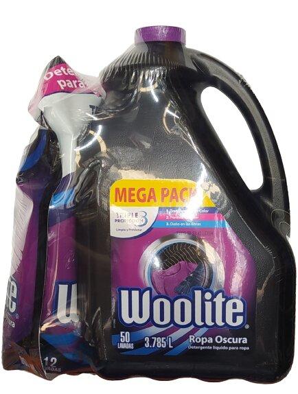 Detergente Liquido Woolite Negro 3785l 900ml