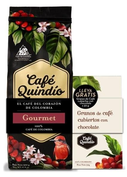 Cafe Quindio Molido Gourmet 500g Gtob