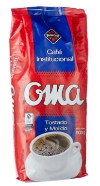 Cafe oma Institucional 500g