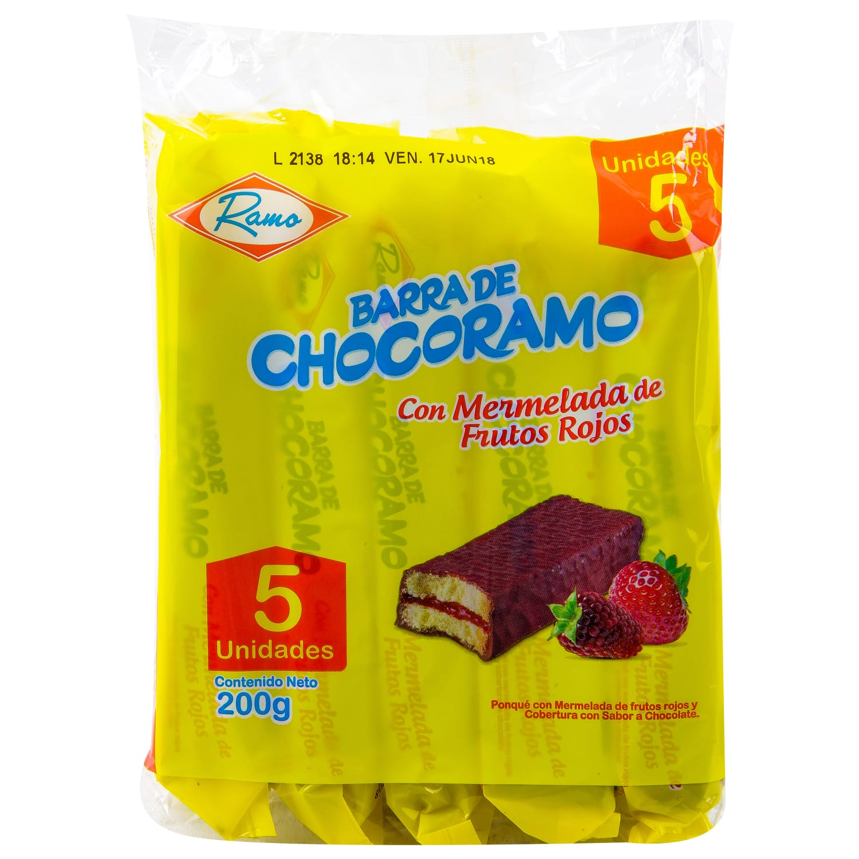 Barrita de Chocoramo 5u 200g