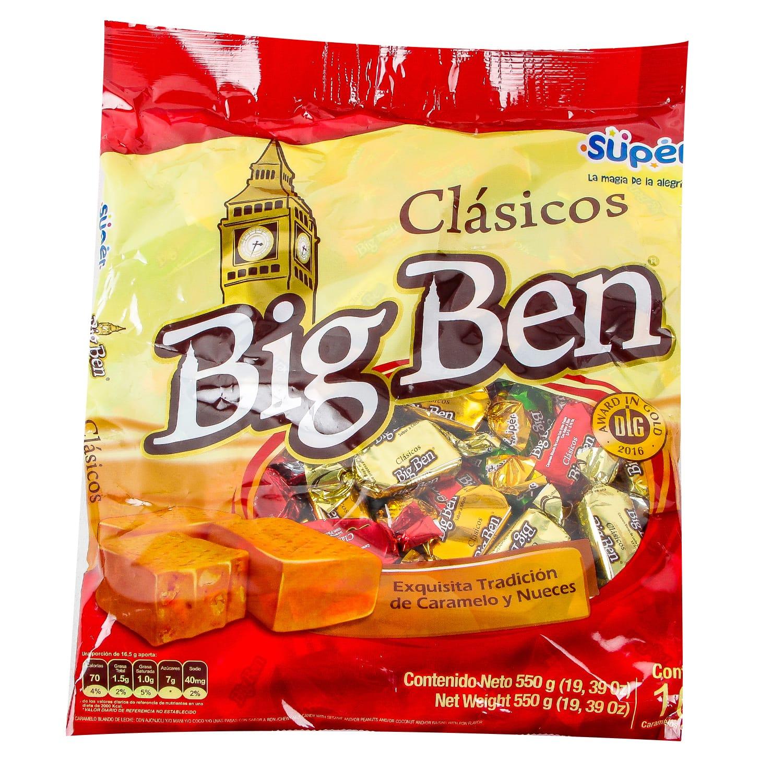 Caramelo Bigben X100u 550g