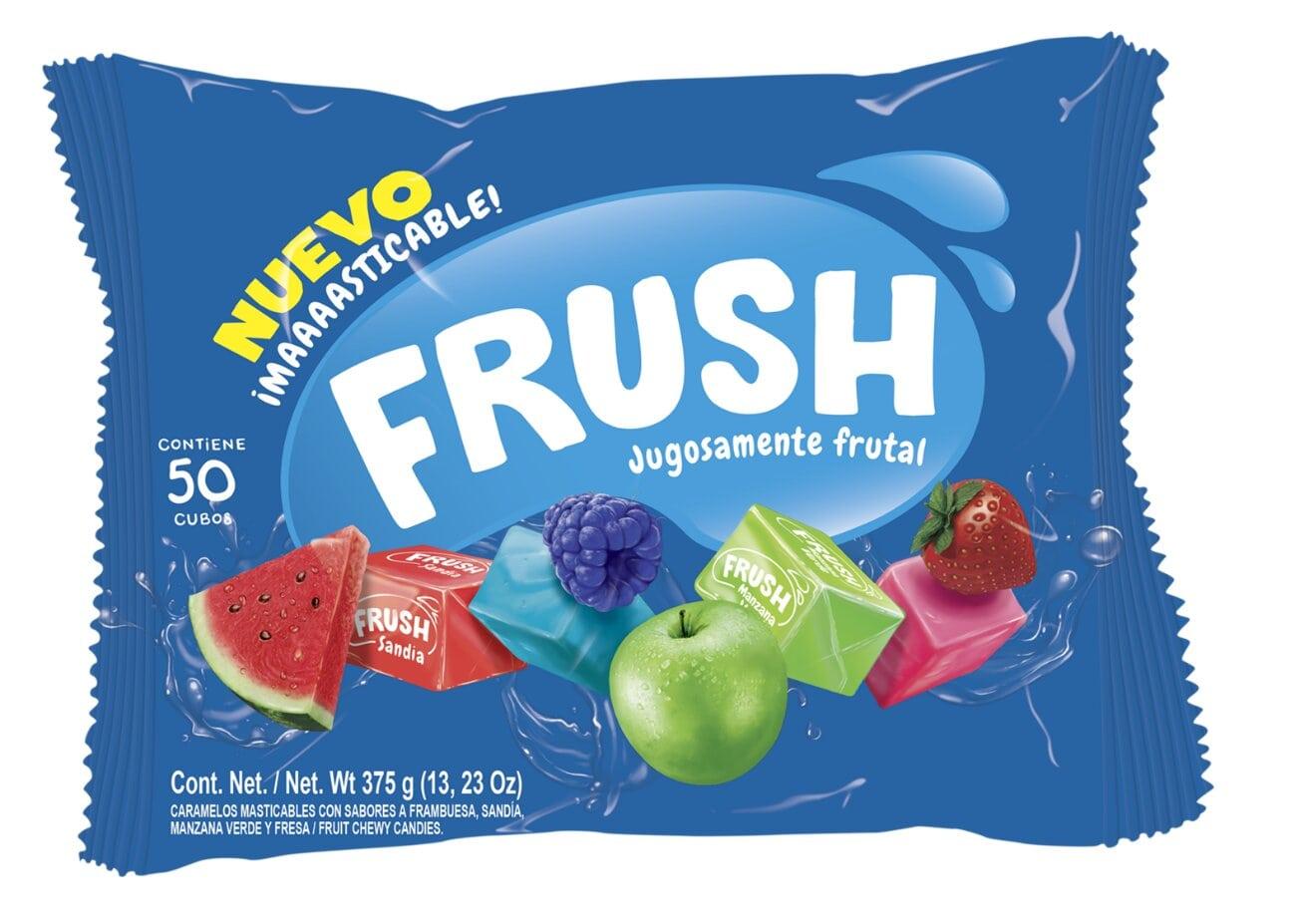 Caramelo Frush Frutal X50u 375g