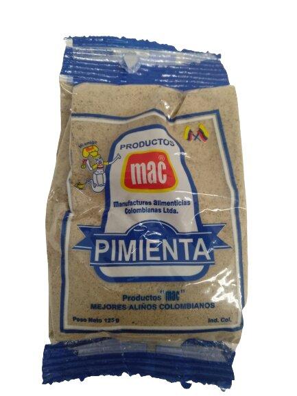 Pimienta mac Molida 125g