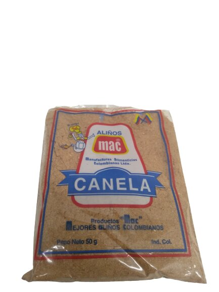 Canela mac Molida 50g