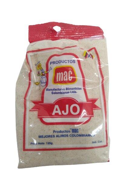 ajo mac Molido 125g