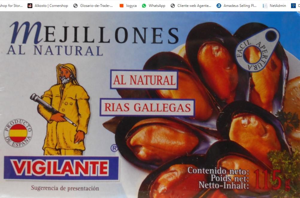 Mejillones Vigilante Escabe 115gx2