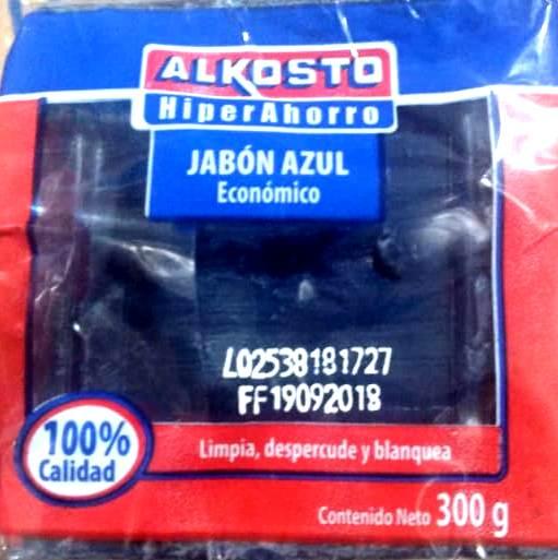 Jabón Lavar Alkosto Azul x 300g