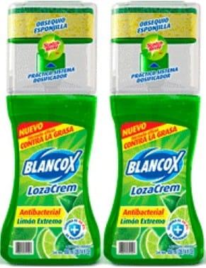 Lavaloza Lozacrem Liquido Limón Extremo 850mlx2