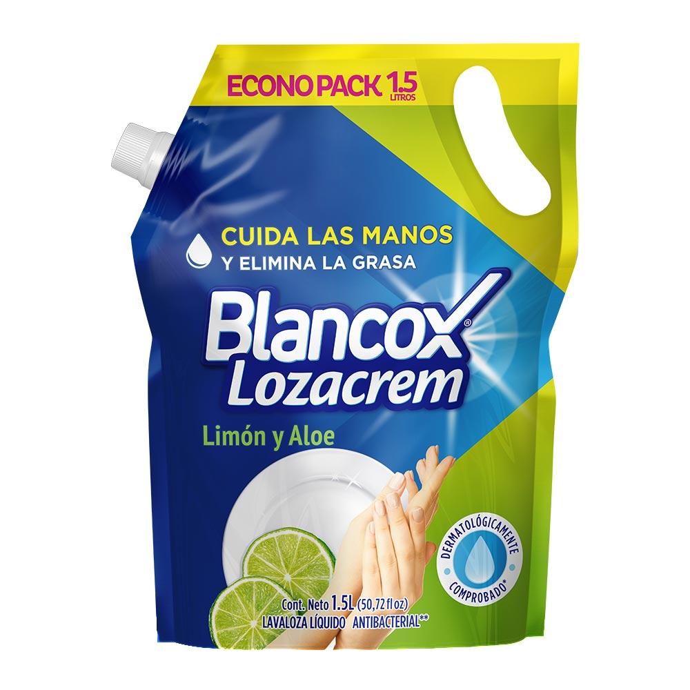 Lavaloza Lozacrem Liquido Limón y Aloe Doy1 5l
