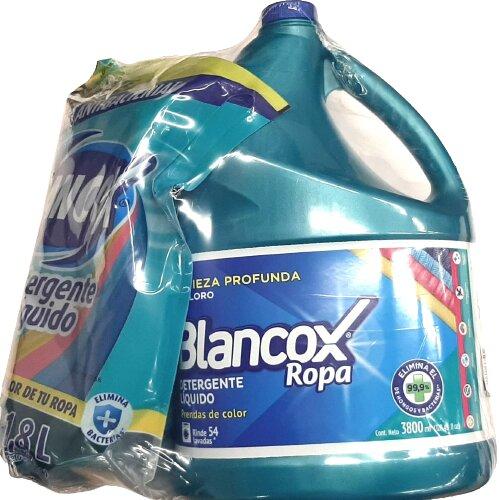 Detergente Liquido Blancox 3 8l Doy1 8l