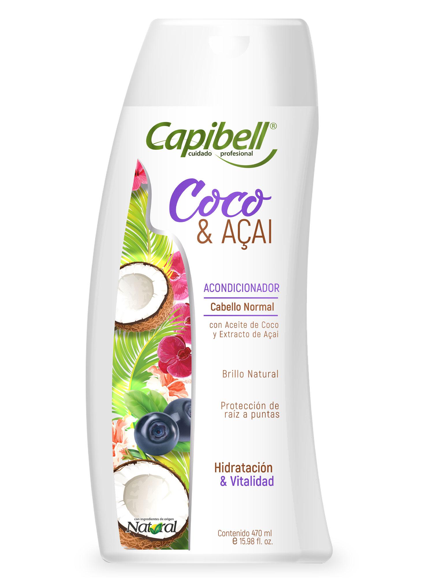 Acondicionador Capibell Coco & Acai 470ml
