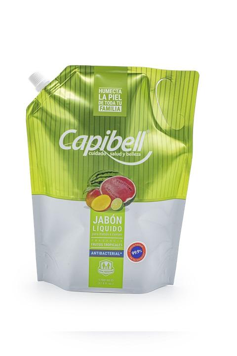 Jabón Liquido Capibell Tropical 1 7l