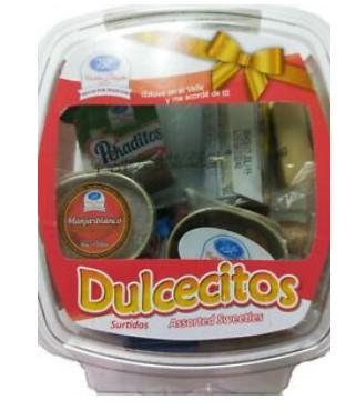Dulces Tipicos Delvalle Surtido 220g
