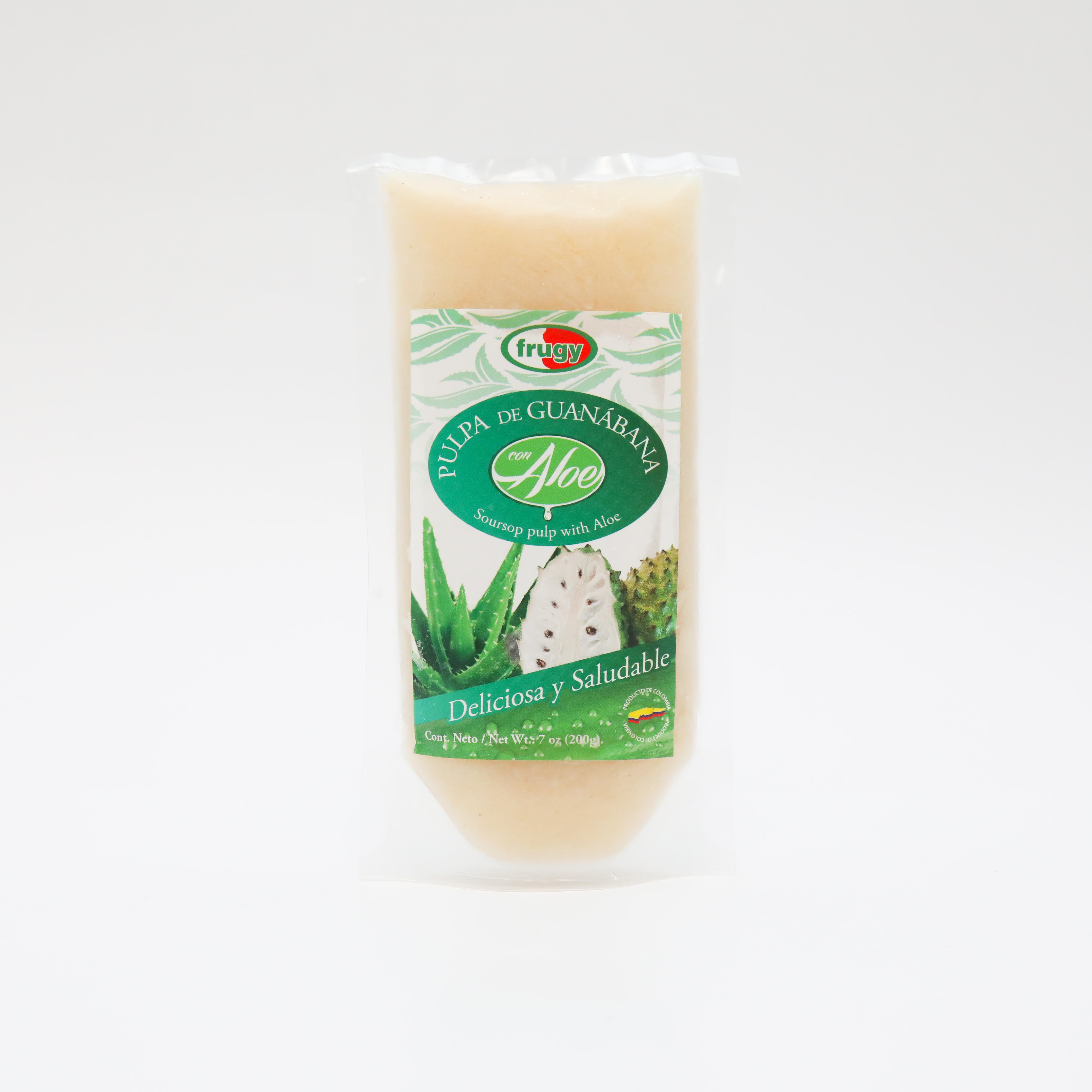 Pulpa Aloe Frugy Guanabana 200g x 3 und