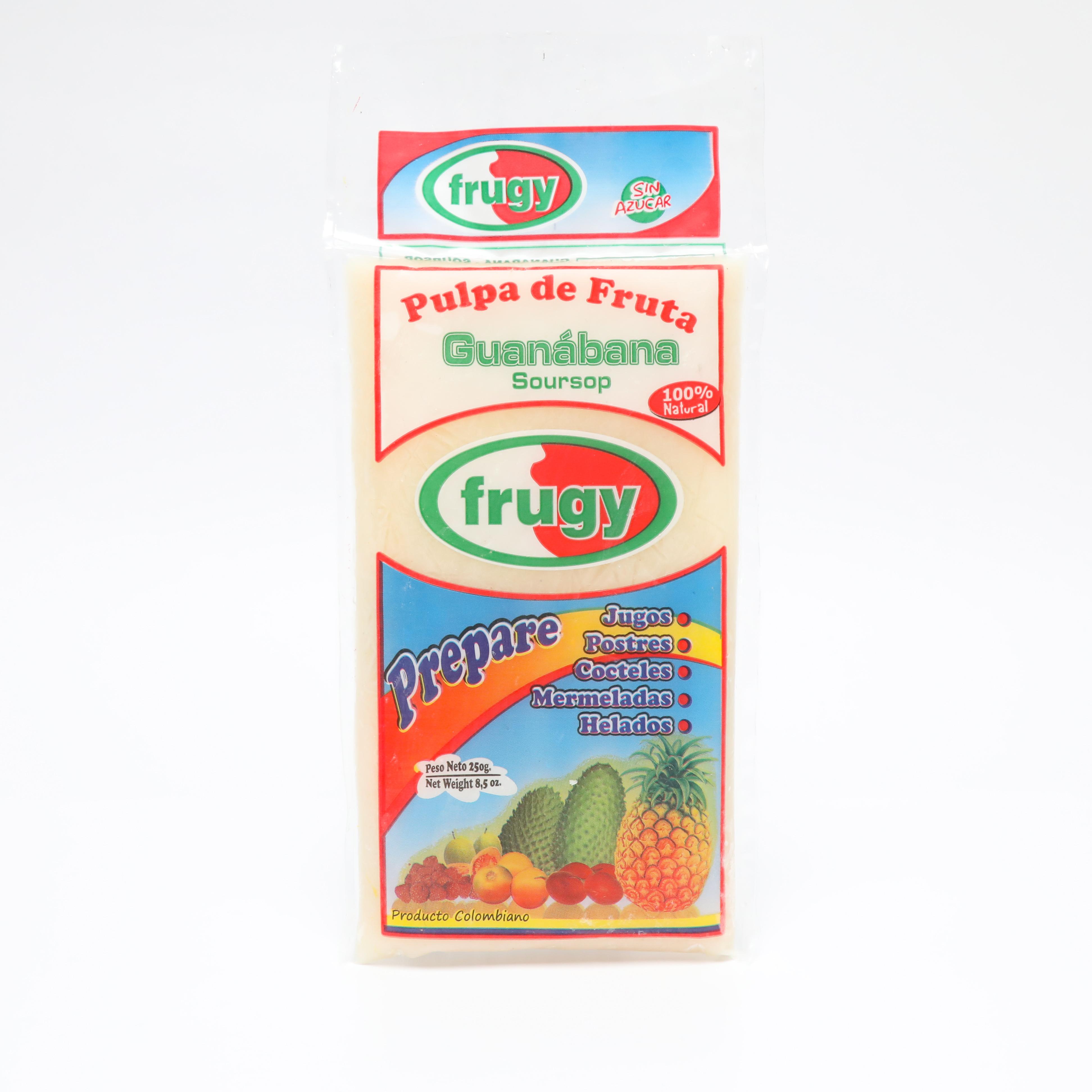 Pulpa Guanábana Frugy 250g x 3 und