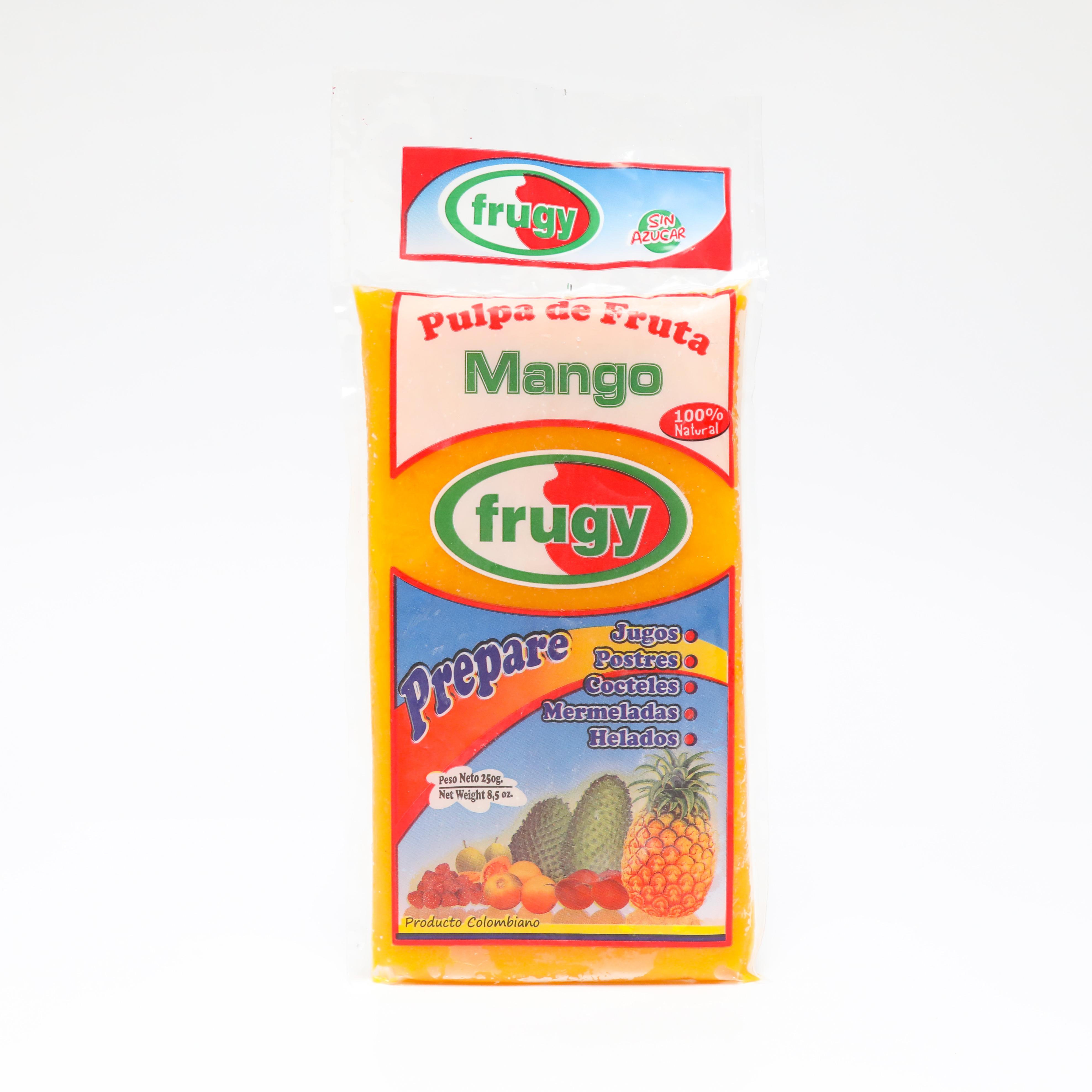 Pulpa Mango Frugy 250g x 3und