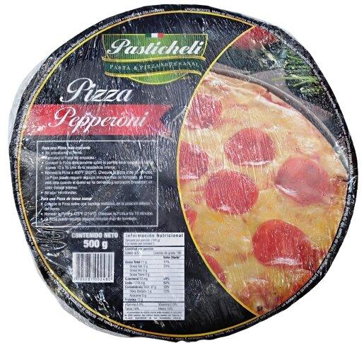 Pizza Pastichelli Peperoni 500g