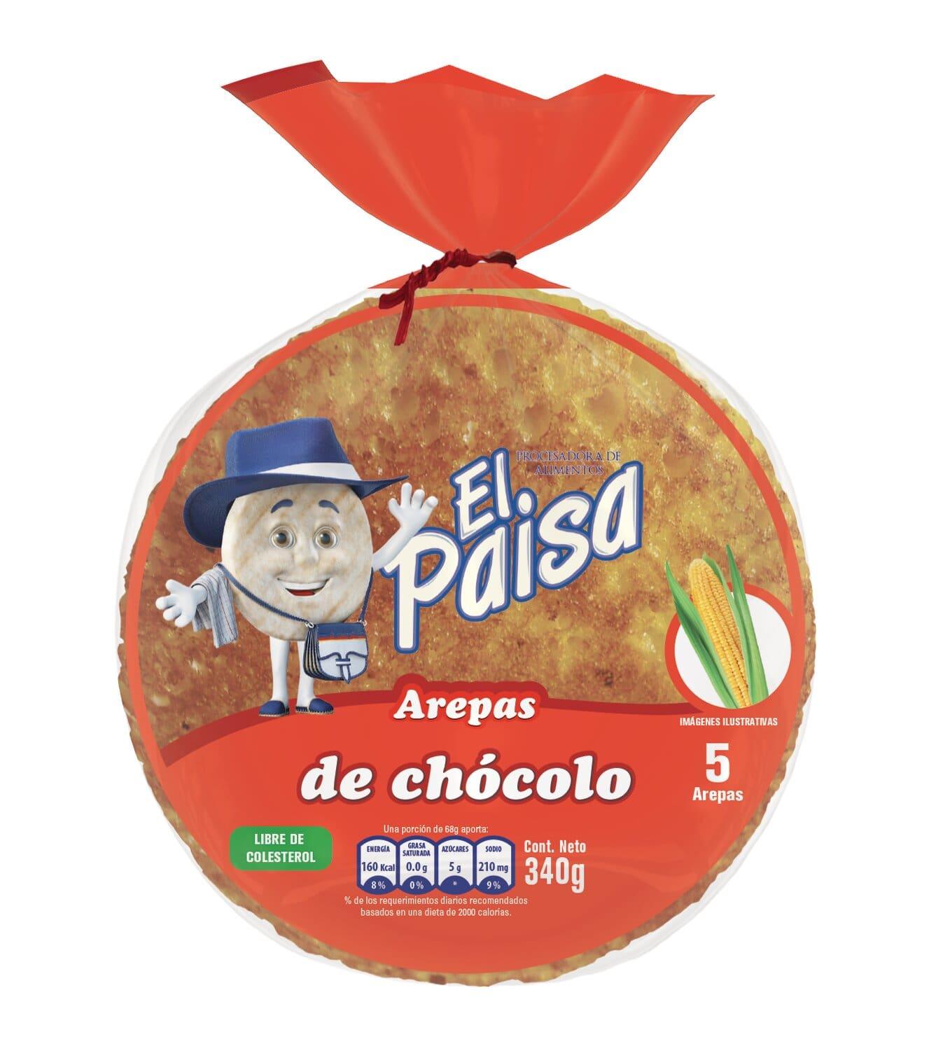 Arep el Paisa Chocolo con Queso 440g