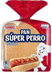 pan Super Perro Bimbo 6u 405g