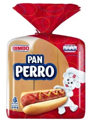pan Bimbo Perro x6u 405g