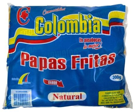 Papa Colombia Natural 12u300g