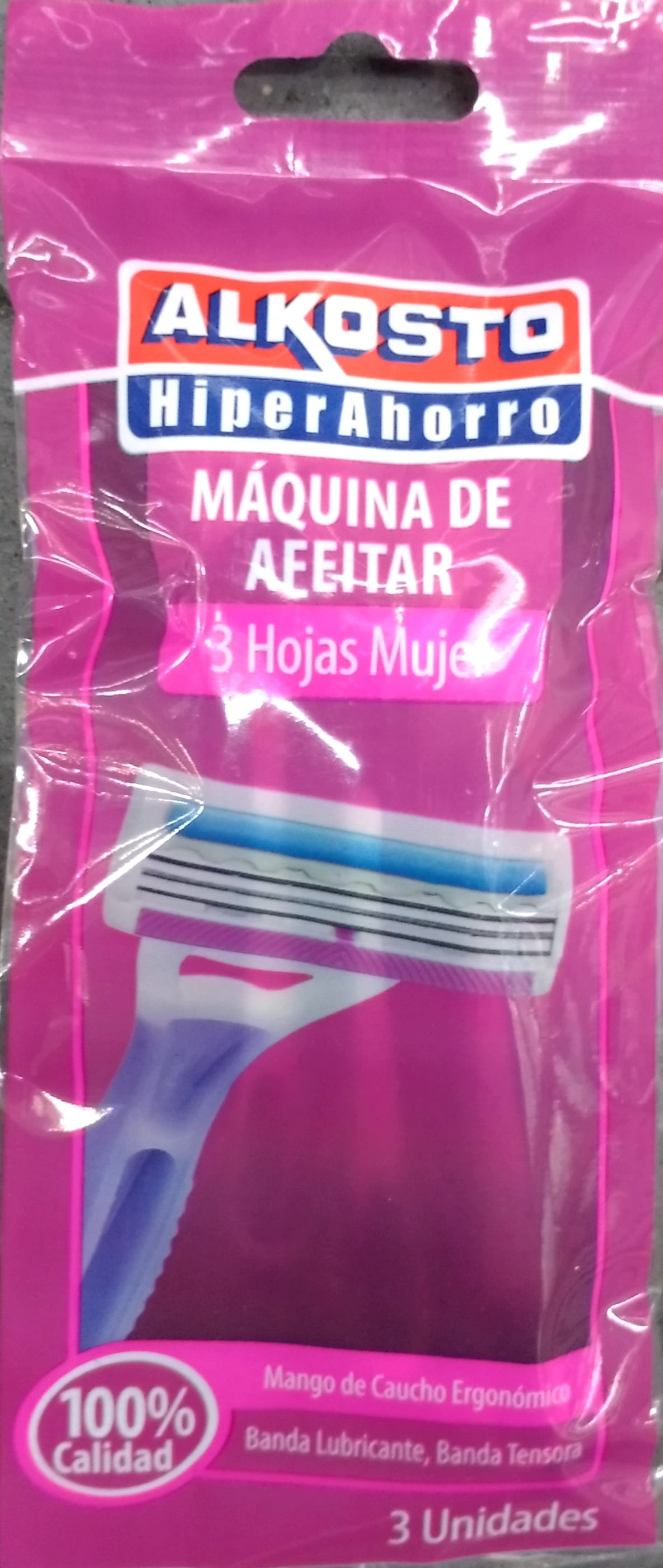 Maquina Afeitar Alkosto Mujer 3hojas 3u