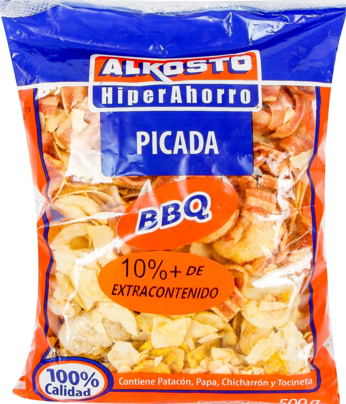 Picada Alkosto bbq 500g 10 Extra Contenido