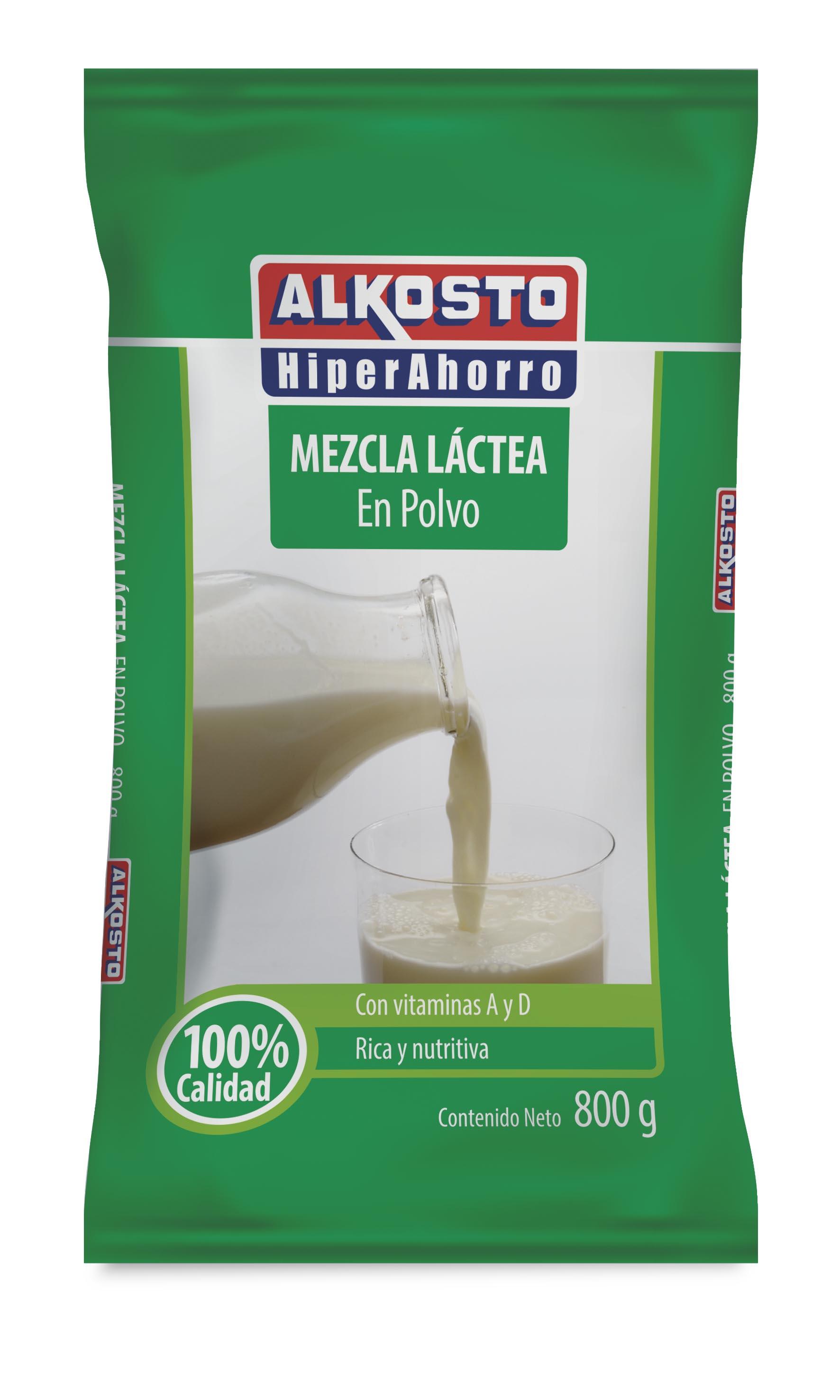 Mezcla Lactea en Polvo Alkosto 800g