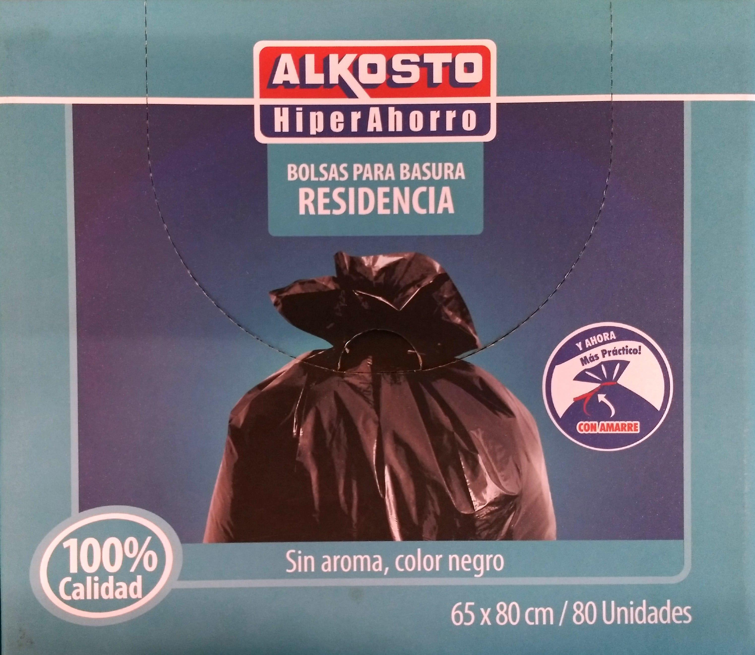 Bolsa Basura Casa Alkosto 65x80 Caja X80u