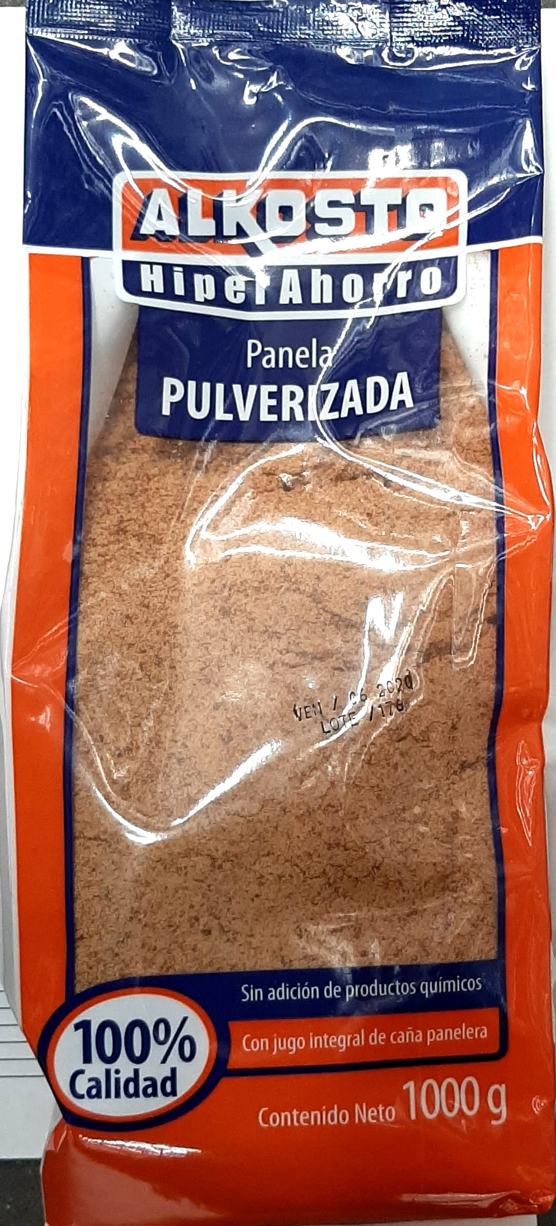 Panela Alkosto Pulverizada 1000g