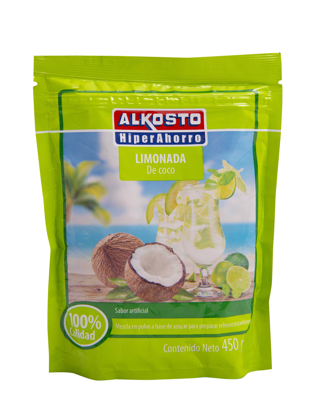 Instantanea Alkosto Limonada Coco 450g
