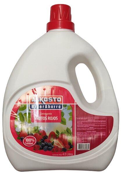 Detergente Liquido Alkosto Frutos Rojos 4l