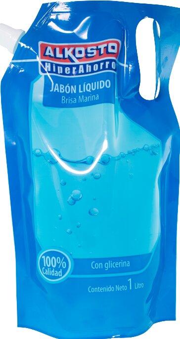 Jabón Liquido Alkosto Brisa Marina d 1l