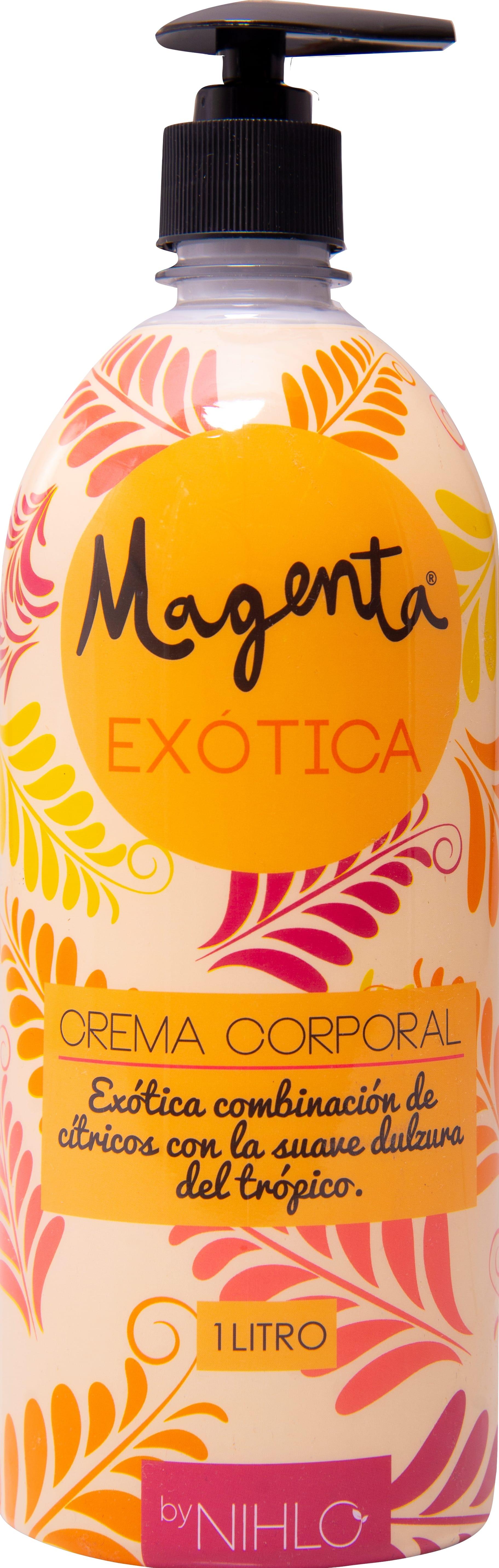 Crema 1 lt Exótica Magenta