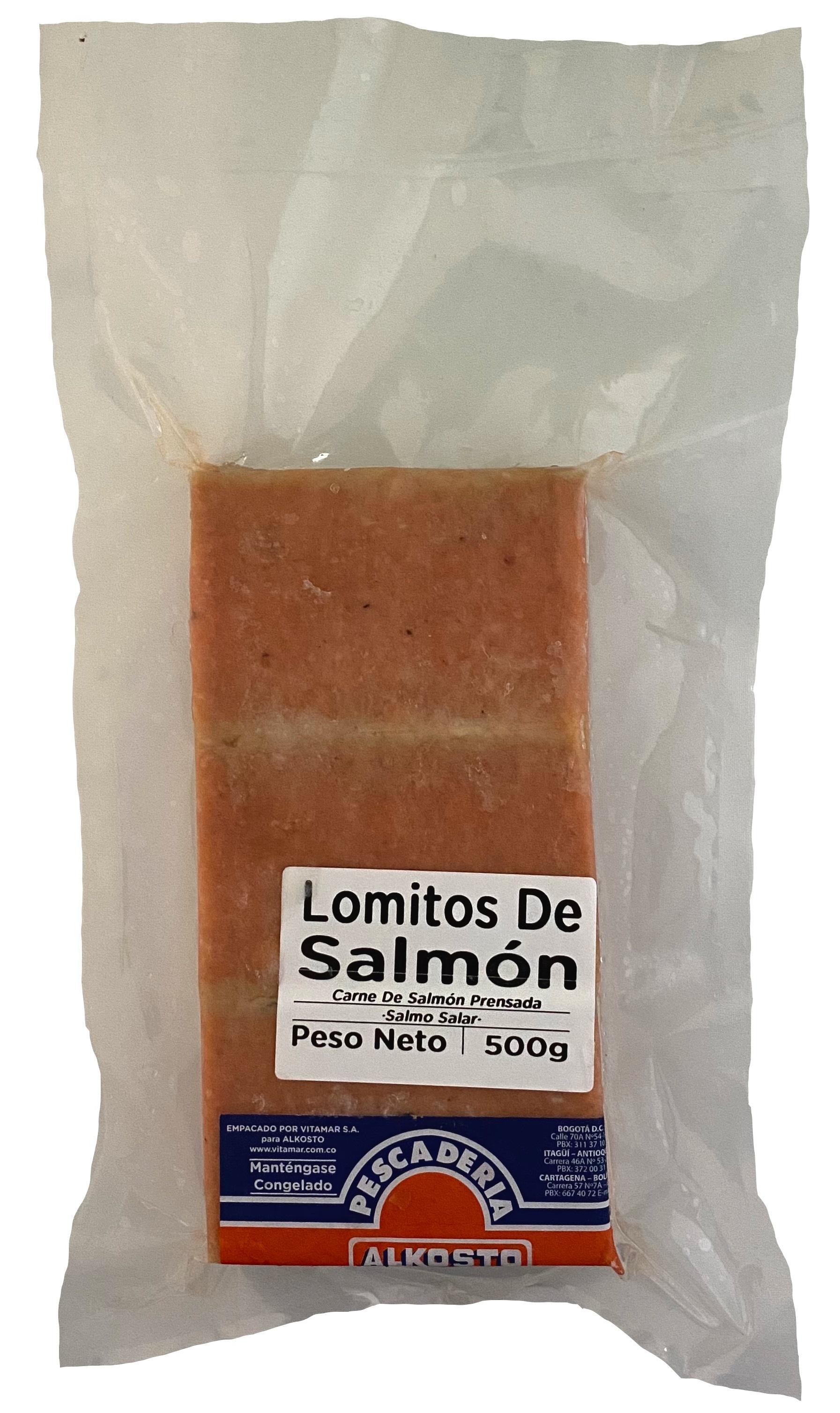 Lomito de Salmón Alkosto 500g
